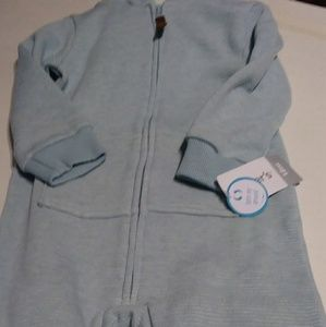 Carter's One Pieces - Carters Hooded Fleece One Piece Animal